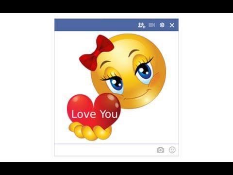 Facebook Chat Smileys & Emoticons ابتسامات، سمايلات، مشاعر دردشة فيسبوك و تويتر