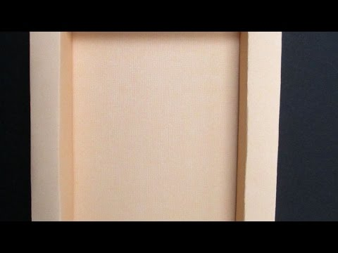 How To How To How To Make a Simple Paper Frame - DIY Home Tutorial - Guidecentral
