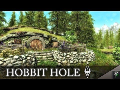 HOBBIT HOLE PLAYER HOME!!- Xbox Modded Skyrim Mod Showcase