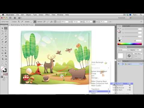Quick Tip: Four Ways to Crop a Vector Illustration in Adobe Illustrator