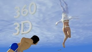 "360 3D Video |  ""Salty Dream""  (Sexy and Surreal)"