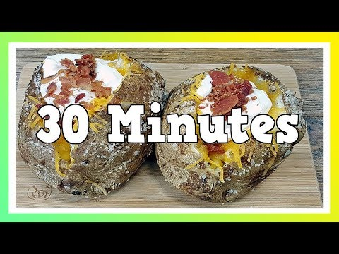 How To Make Baked Potatoes Fast