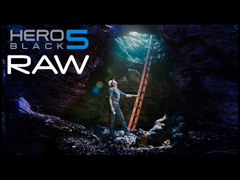 GoPro Hero5 Raw Images! + A Photoshop Tutorial: How to Create Light Rays