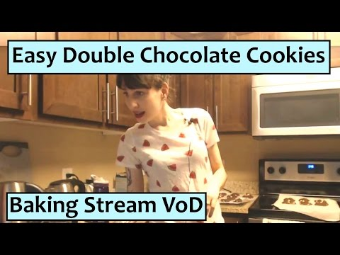 Great Hazel Test Baking Stream - Double Chocolate Friendship Cookies!