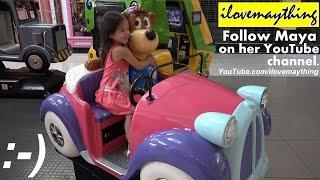 Kiddie Car Ride, Train Ride, Playtime at the Playground and more w/ Hulyan & Maya