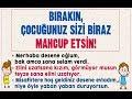 Download Bırakın çocuğunuz sizi biraz mahcup etsin... Dr. Yaşar Kuru MP3,3GP,MP4