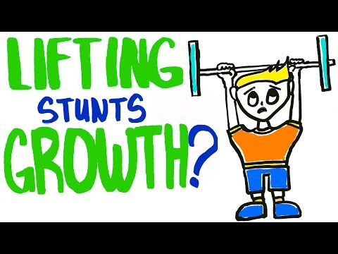 Does Working Out Stunt Your Growth?
