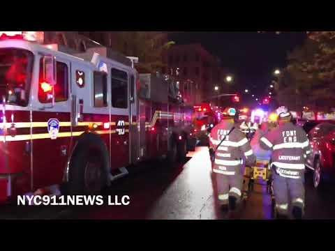 FDNY Box 2174: 4 Alarm Bronx fire under control