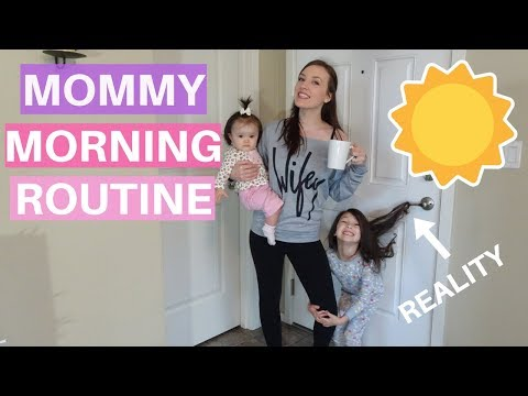 MORNING ROUTINE OF A STAY AT HOME MOM 2017| SAHM MORNING ROUTINE 2017| YOUNG MOM OF 2