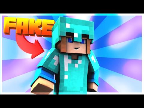 FAKE DIAMOND ARMOUR CHALLENGE! - Minecraft Pocket Edition Survival Games (Survival Games Trolling)
