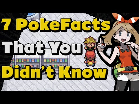7 Pokemon Facts You Didn't Know!