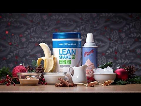 Let's Make Eggnog - Low-Fat Holiday Eggnog Smoothie Recipe - GNC