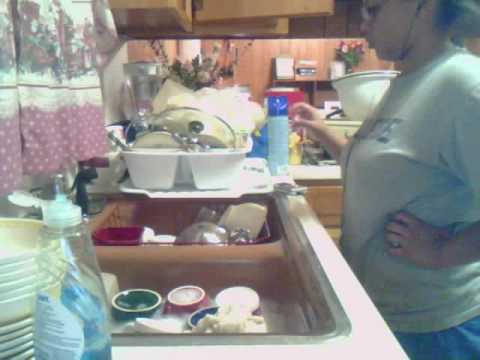 Time Lapse: Doing The Dishes