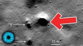 Mondstation: Eishöhlen auf dem Mond entdeckt - Clixoom Science & Fiction