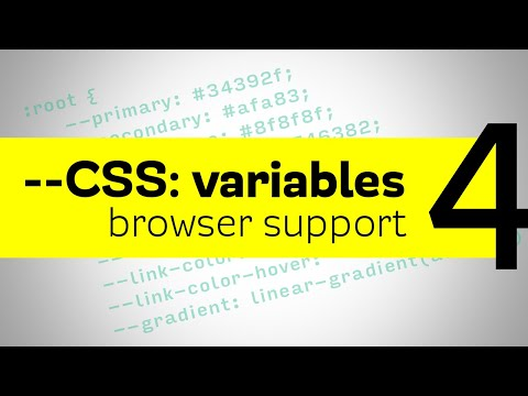 CSS Variables - Browser Fallbacks