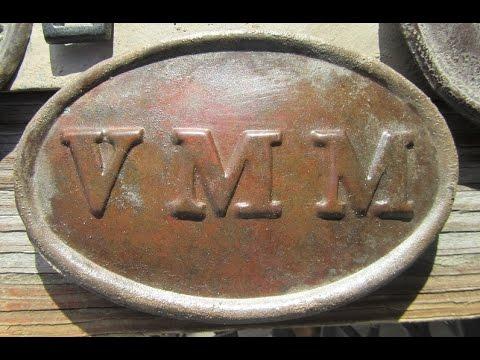 REB Digs; Digging a VMM Civil War Box Plate, 9Th Maine Vols.,With a Nautilus Metal Detector
