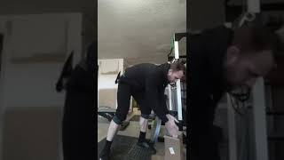 Plate pinch and hold- 2x45lbs- attempt 1