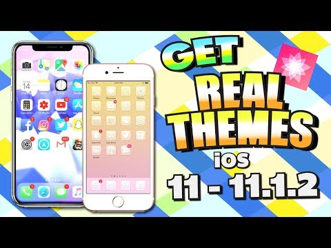 How To Get iOS 11 - 11.1.2 THEMES With Electra Jailbreak (Anemone & SSH) - EASY! (iPhone, iPad)