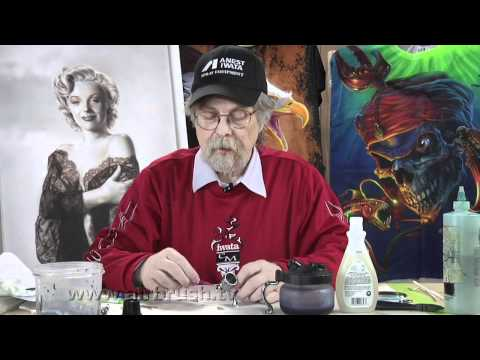 How To Clean An Airbrush - Airbrush.TV