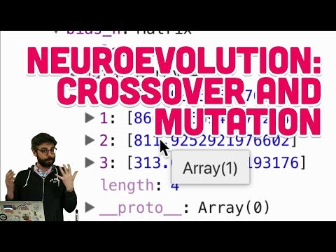 11.2: Neuroevolution: Crossover and Mutation - The Nature of Code