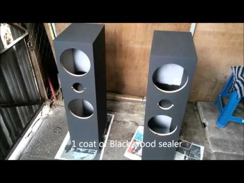 DIY Custom Speaker Enclosure - Aperiodic coupled bass reflex