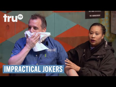 Impractical Jokers: Inside Jokes - Joe Throats a Chicken Tender | truTV