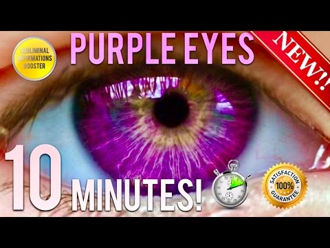 🎧 GET PURPLE HAZEL EYES IN 10 MINUTES! BIOKINESIS - CHANGE YOUR EYE COLOR! RESULTS FAST!