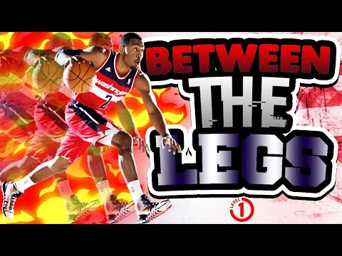 BETWEEN THE LEGS STATIONARY BALL HANDLING! LEVEL 1