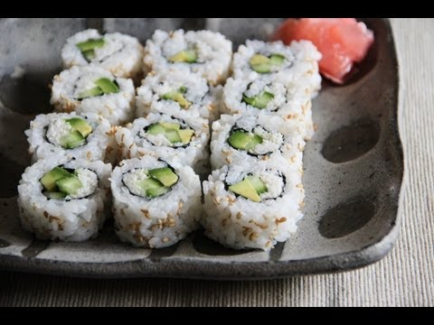 California Roll Recipe - Japanese Cooking 101