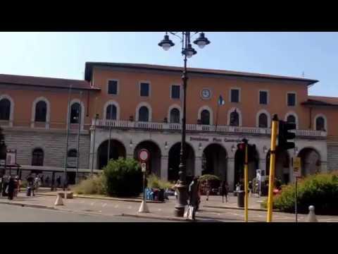 Pisa Centrale: Stazione / Bahnhof, Italy