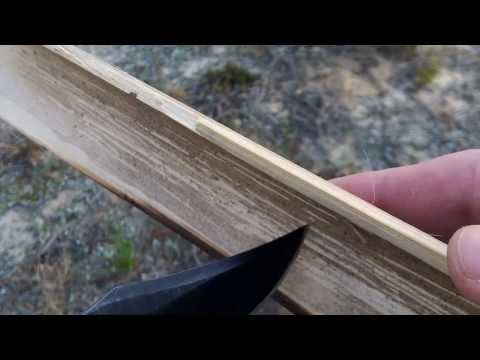 Hidden Florida's Bamboo Fire Saw Tutorial Primitive Friction Fire How-to