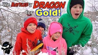 We Battled a Dragon! Search for Treasure X Dragon