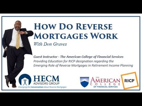 How Does a Reverse Mortgage Work - A Simple Explanation