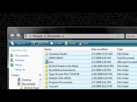 HD Tutorial: Get Old Menus Back in Vista Explorer