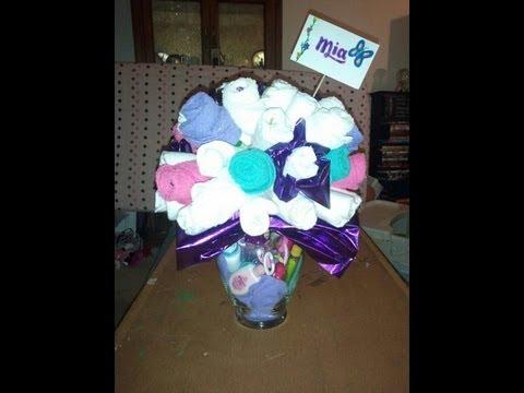 Diaper Bouquet Baby Shower Gift