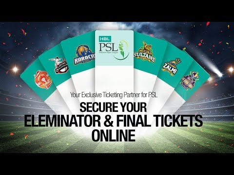 PSL 3 Season   PSL Final Tickets   PSL 2018 - Yayvo.com