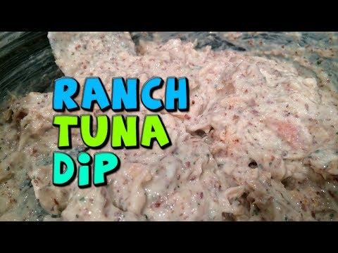 Ranch TUNA Dip Recipe (Really Quick + High Protein)