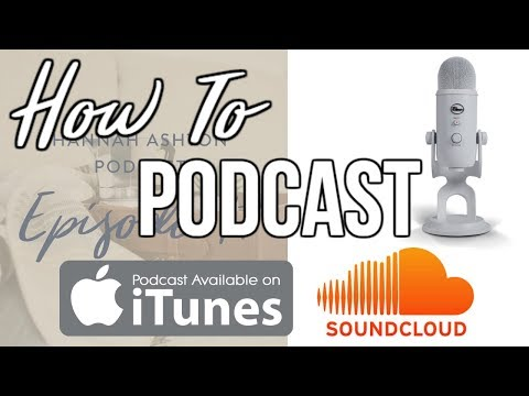 How To Have A Podcast and GET ON iTunes! SO SIMPLE