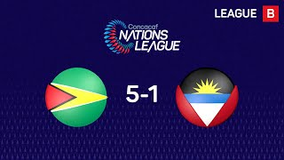 #CNL Highlights - Guyana 5-1 Antigua