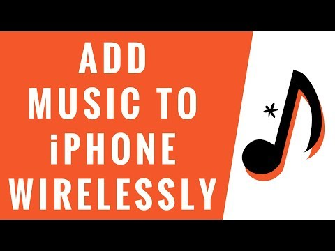 How to Add Music to iPhone [wirelessly! 2018]