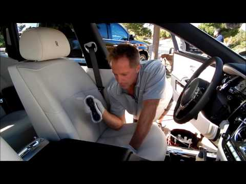 Automotive Leather Cleaning: $315K Rolls Royce Ghost