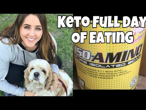 Keto Cut Day 8 | Keto Full Day of Eating | Not Aways My Best Day
