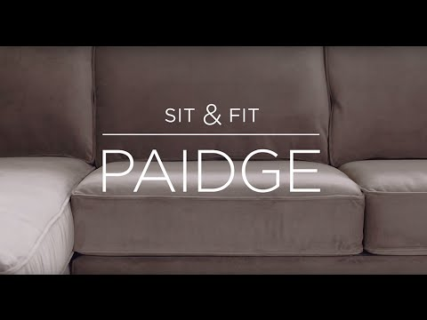 Sit & Fit:  Paidge Sofa