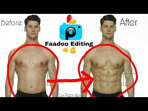 How To Get Six Pack Abs In Few Minutes | Six Pack Abs Editing Tutorial In Picsart 2017 HD
