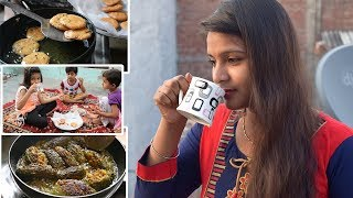 INDIAN BREAKFAST ROUTINE 2018 IN HINDI | INDIAN BREAKFAST RECIPES IN HINDI | MORNING ROUTINE