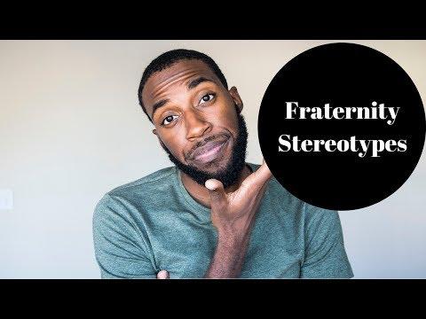FRATERNITY STEREOTYPES | NPHC FRATERNITY ADVICE