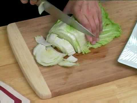 Cooking Tips : How to Slice Napa Cabbage