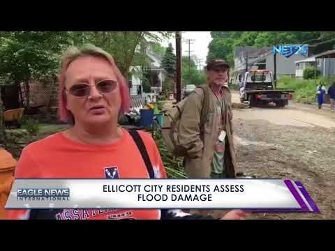 Ellicott City residents assess damage from flood