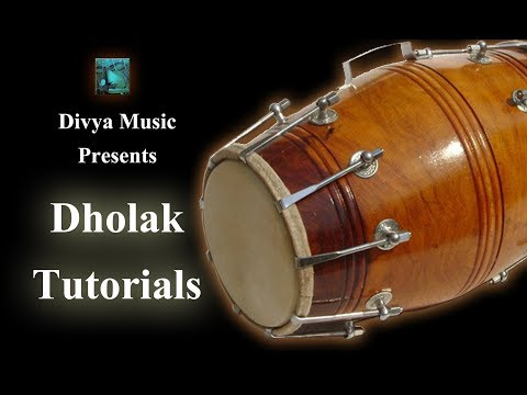 Instrument Tutorials | Beginners Dholak Tutorial | Learn Dholak Online | Divya Music