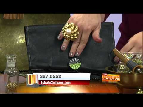 Repurpose leather! By Jenni Pagano on Tucson Morning Blend for 1st Rate 2nd Hand thrift store
